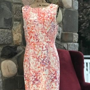 Ann Taylor abstract print dress size 10